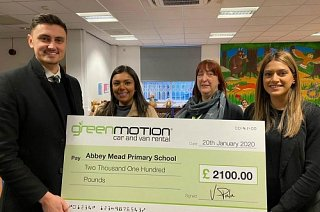 Green Motion Leicester helps local primary school go green