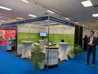 Green Motion exhibits at the British & International Franchise Exhibition 2020