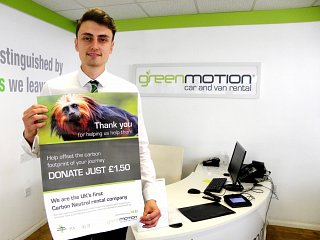 Green Motion become first UK based carbon neutral rental company