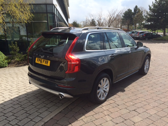Green Motion Manchester adds the 2016 Volvo XC90 to the fleet