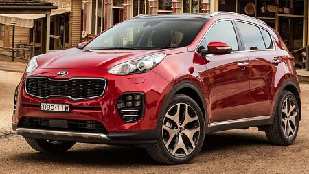 Kia Sportage (Group 2B/2C)