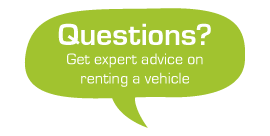 Questions? Click here to see our expert advice on renting a vehicle with Green Motion